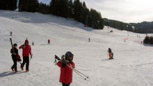 Lovely wide uncrowded slopes