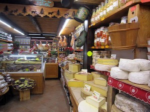A sample Deli in Les Gets